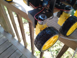 El cheapo motors from China.